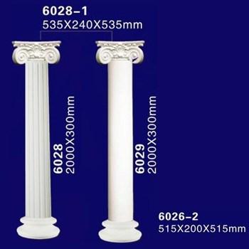 exterieur decoratif en plastique creux polyurethane romaine eclairee colonne pilier