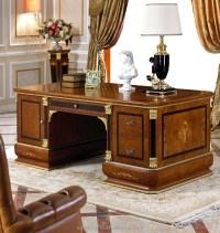 0038 European Dignity Classic Executive Desk Design ...