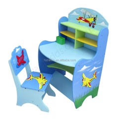 Study Table And Chair For Kids Boss Leatherplus Executive Comfortable Desk Children Wooden Buy