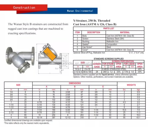 small resolution of y type water filter dn 50 65 80 100 125 150 200 250 350 400 500