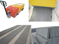 Light weight wall panel extruder machine Precast ...
