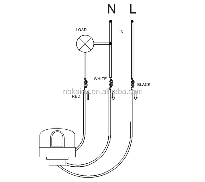 Street Light Photocell Wiring Diagram Street Light Wiring
