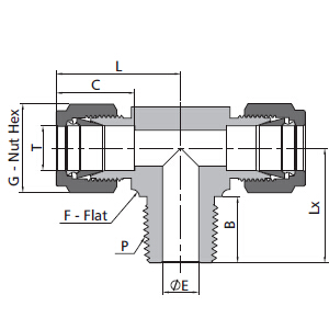 Asme Standard Stainless Steel Forged Pipe Fitting Tee