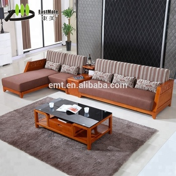 modern wooden sofa set designs for living room queen sleeper with storage solid rubber wood china design emt a