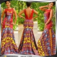 African Print Evening Dresses  fashion dresses