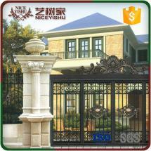 Boundary Wall Gate Design