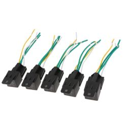 get quotations flameer 5 pieces 60v 40amp automotive car horn relay 4 wires harness [ 1024 x 1024 Pixel ]