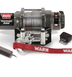 get quotations warn 99388 vantage 3000 winch 3000 lbs 1361 kg 12v permanent magnet motor 50 [ 1500 x 1059 Pixel ]