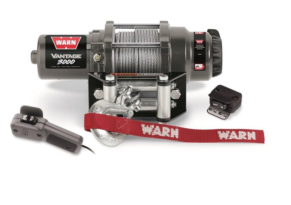 medium resolution of get quotations warn 99388 vantage 3000 winch 3000 lbs 1361 kg 12v permanent magnet motor 50