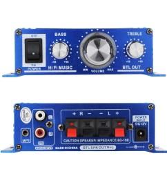 buy 12v compact mini hi fi car audio home theater stereo speaker amplifier for home car motorcycle van boat motor bike etc in cheap price on m alibaba  [ 1000 x 1000 Pixel ]