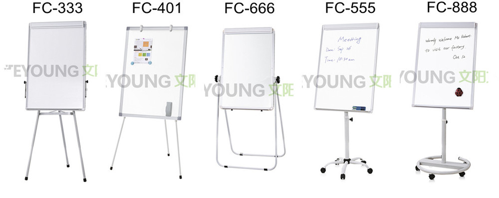 FC-888 Luxurious Office Presentation Mobile Flip Chart