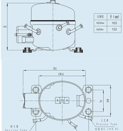 3 8hp e10g high quality refrigerator r134a freezer compressor [ 750 x 1055 Pixel ]
