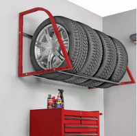 Fashion truck tyre storage wall mounted tire rack TU-2006 ...