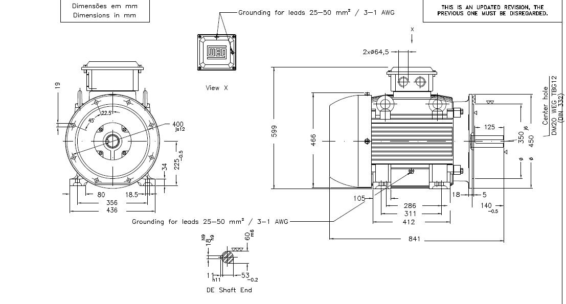 weg w21 motor wiring diagram