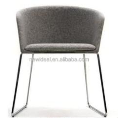 Metal Tub Chairs Web Lawn Chair Modern Fabric Furniture Leisure With Leg Round Back Leisrue