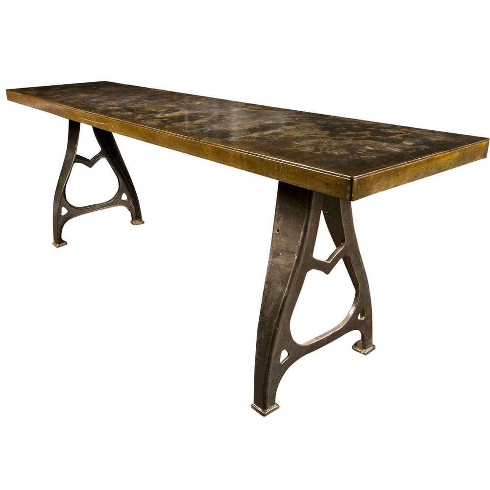 Custom Metal Table Legs,Cast Iron Machine Table Legs For