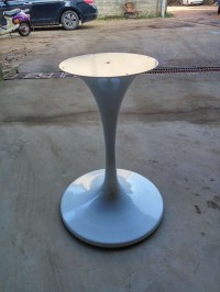 New Cast Iron Tulip Table Base Sculpture Granite Base For ...