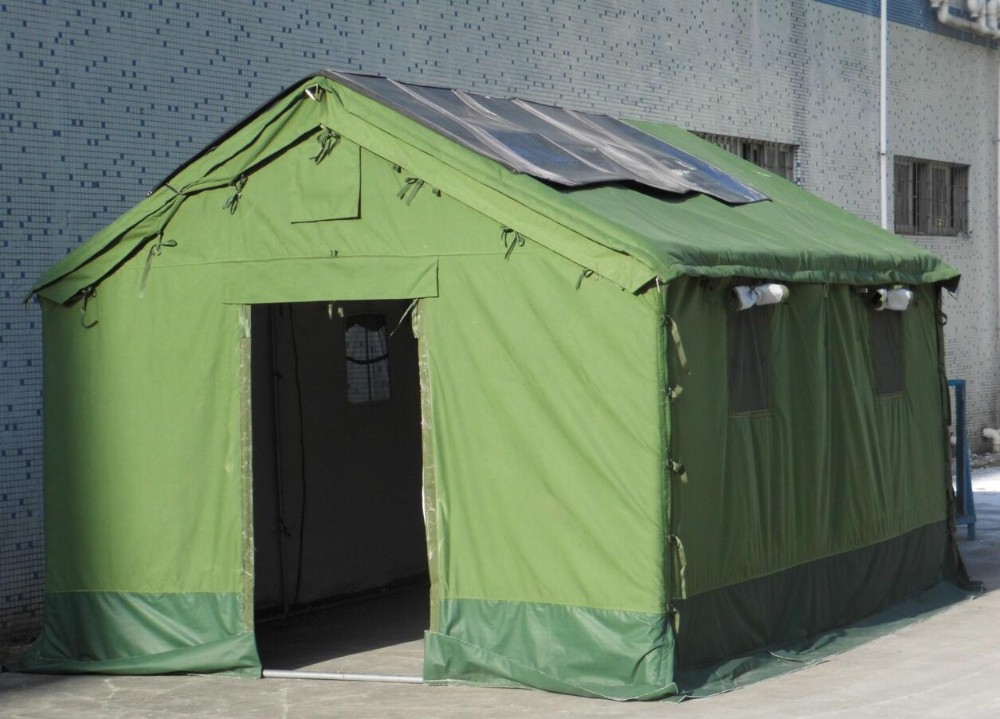 Solar Tent For Disaster ReliefMilitary UseingCamping