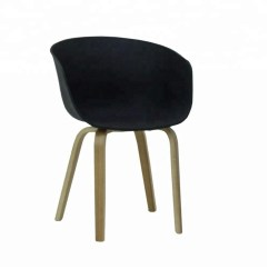 Black Plastic Chair With Wooden Legs Hawaii Price Kld Wholesale Fancy Chairs Wood Buy