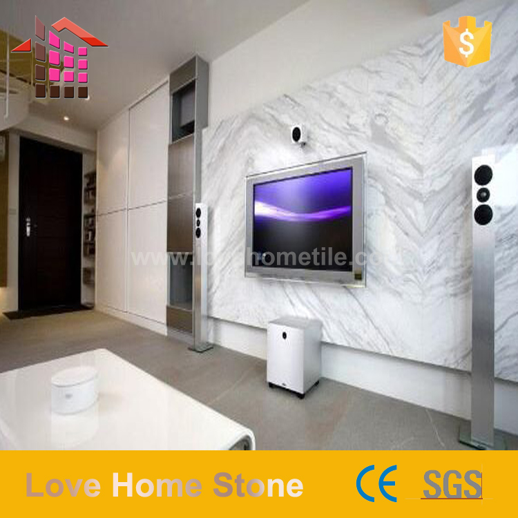 carrelage mural de salon en marbre