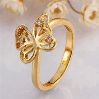 Wholesale Alibaba New Design Finger Butterfly Gold Ring ...