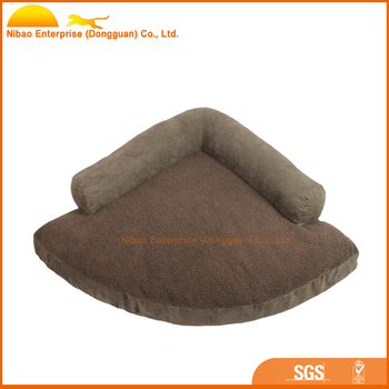 soft sofa dog bed tenda eron triangle shaped warm