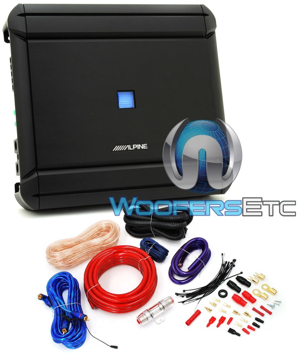 hight resolution of get quotations pkg alpine mrv m500 1 channel 500w rms 1000w max v power series car