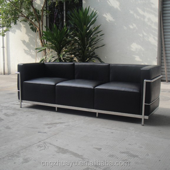 lc3 sofa ikea bed covers genuine leather lc loveseat buy