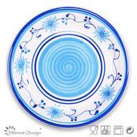 Charger Plates Decorative Ceramic Stoneware Hand Painting ...
