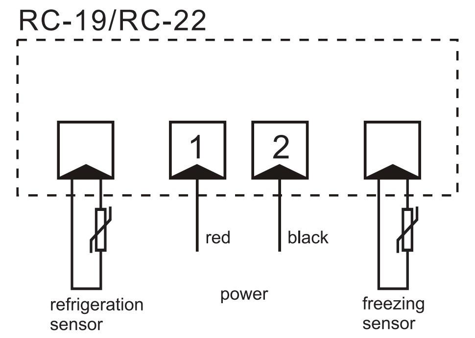 RINGDER RC-22 Refrigerator Showcase Freezer Fridge Digital Dual Display Thermostat Knob Price