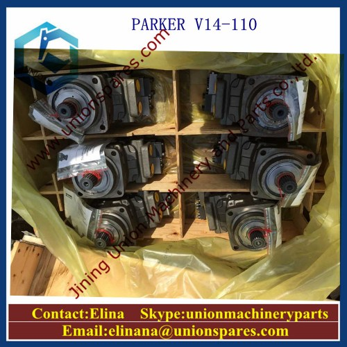 small resolution of parker v14 160 hydraulic pump 3782305 hydraulic motor
