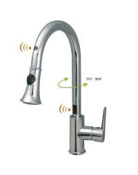 Cupc Touchless Sensor Kitchen Faucet - Buy Sensor Kitchen ...