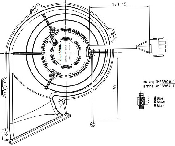 Blower Motor On Dryer