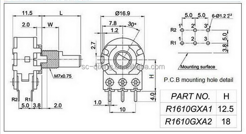 For A 10k Potentiometer Wiring Diagrams 4-20mA Wiring
