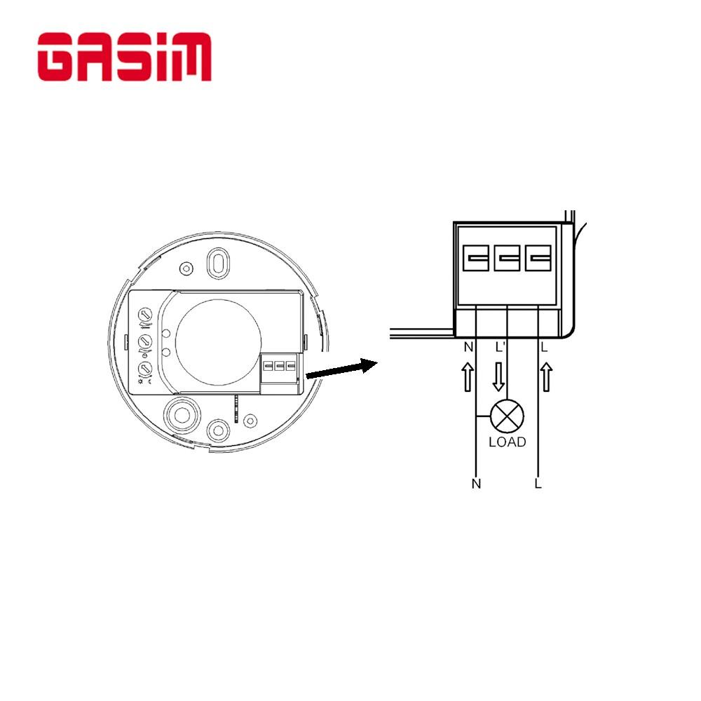 New Style Radar Sensor Switch Motion Detector For Led