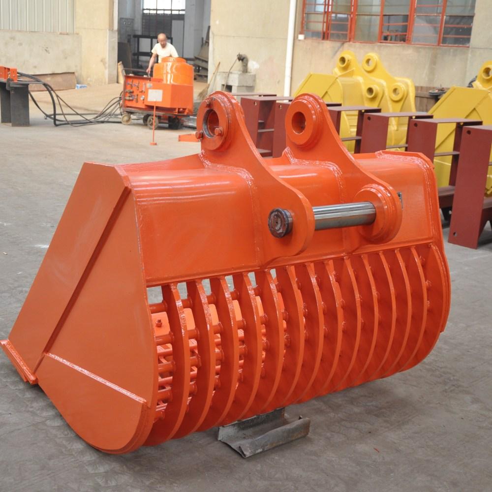 medium resolution of customized professional excavator dozer root rake for factory use
