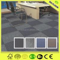 Washable Fire Resistant Office Carpet Tiles Commercial ...