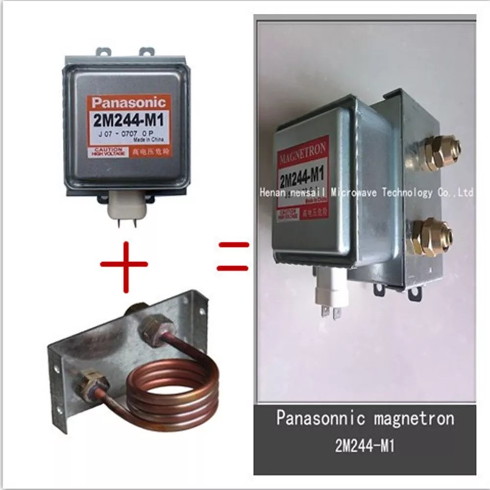 panasonic magnetron 2m244 water cooled original and new mangetron price industrial microwave oven parts buy panasonic magnetron panasonic magnetron