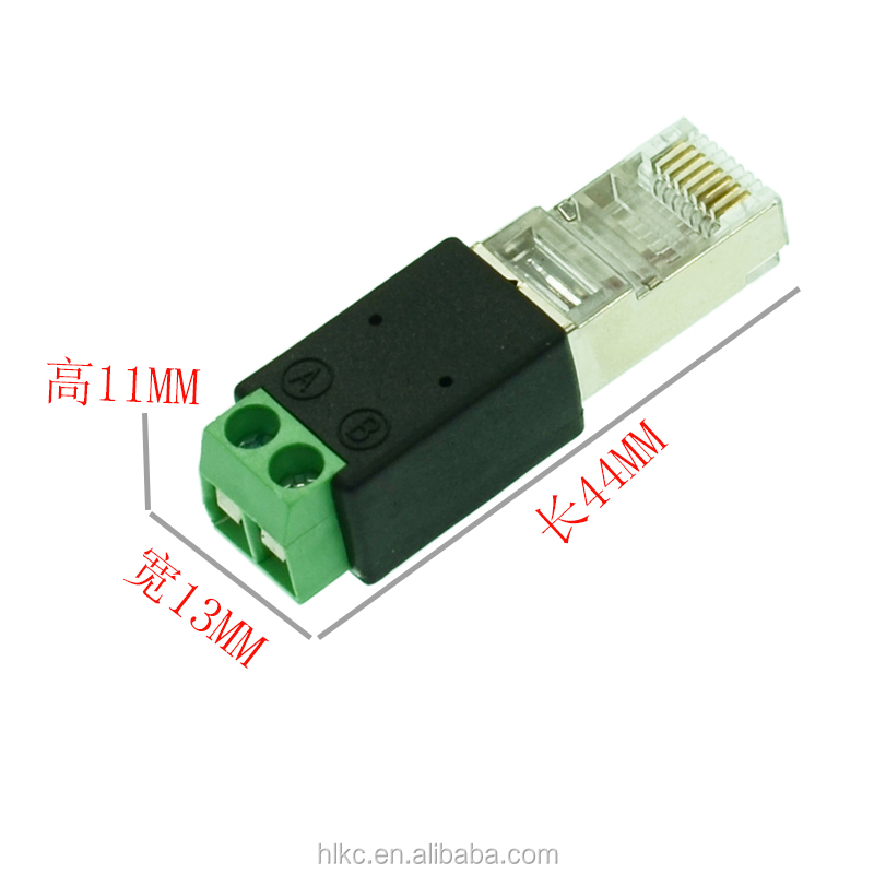 Wiring Rs485 To Rj45 Cable Connector