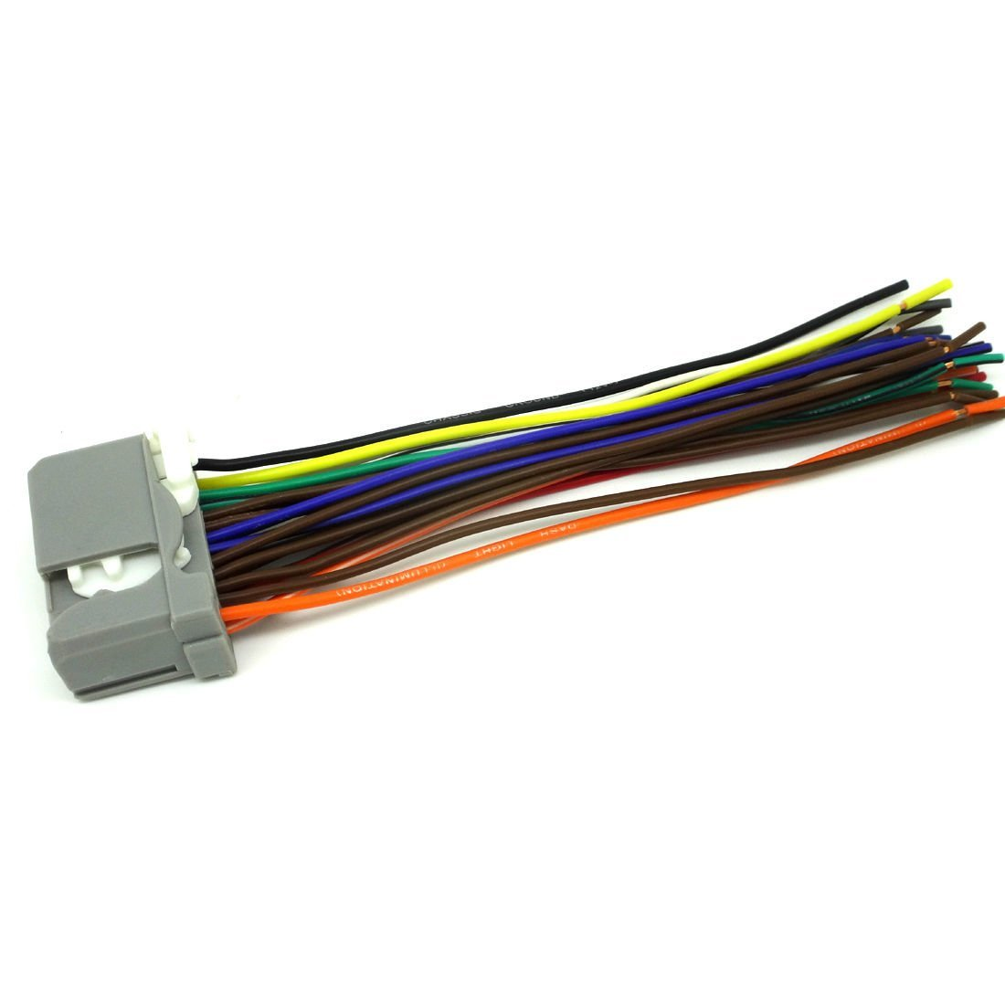 hight resolution of honda car stereo cd player wiring harness wire aftermarket radio install 2009 2012 honda ridgeline