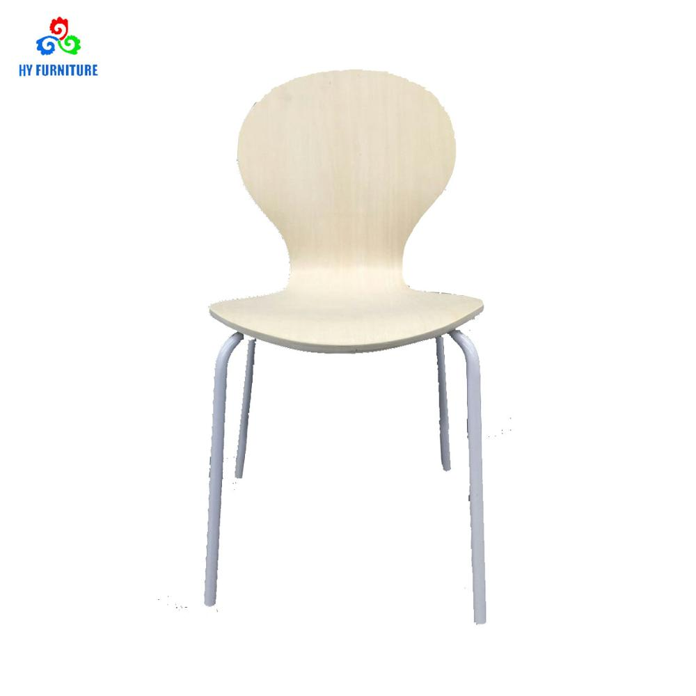 Stacking Dining Chairs Sturdy Home Office Furniture Bent Plywood Stacking Dining Chair With Metal Legs Buy Metal Plywood Chair Stacking Dining Chair Metal Frame Chair