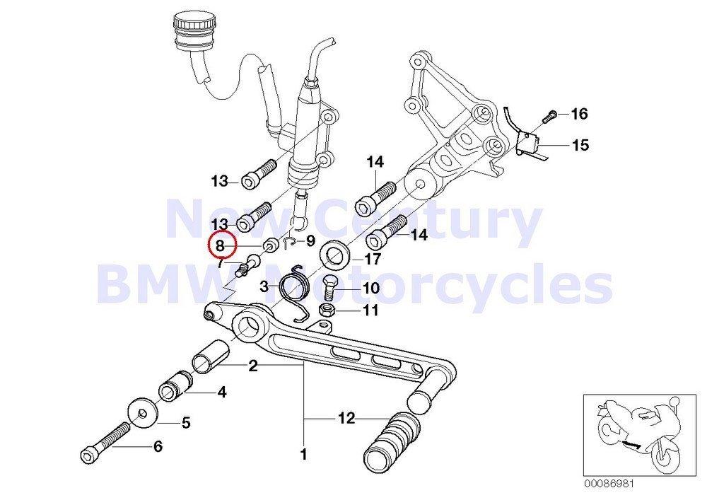 Buy BMW Genuine Motorcycle Badge D=70MM R1100S K1200LT
