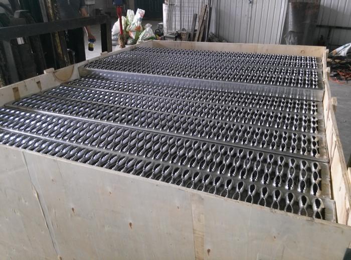 Perforated Grip Strut  Deck Span Safety Grating  Buy