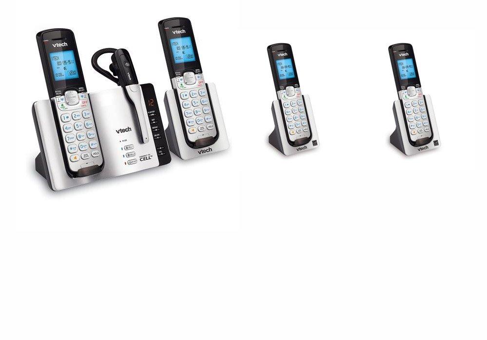Buy Vtech DS6671 Cordless Phone System 6 Handsets 1