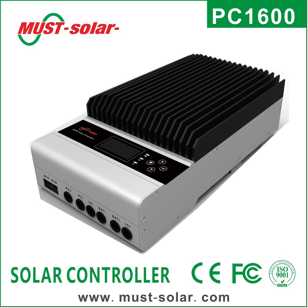 Solar Panels 45 Amp Mppt Solar Controller 4 Stage Battery Charging