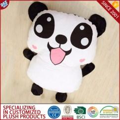 Panda Bean Bag Chair Suede Dining Room Covers House Hold Folding Floor Bed Kids Cartoon Sofa - Buy ...