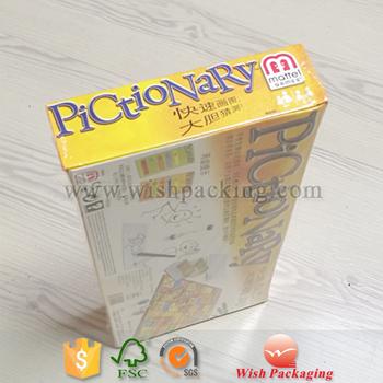 cardboard package box printed