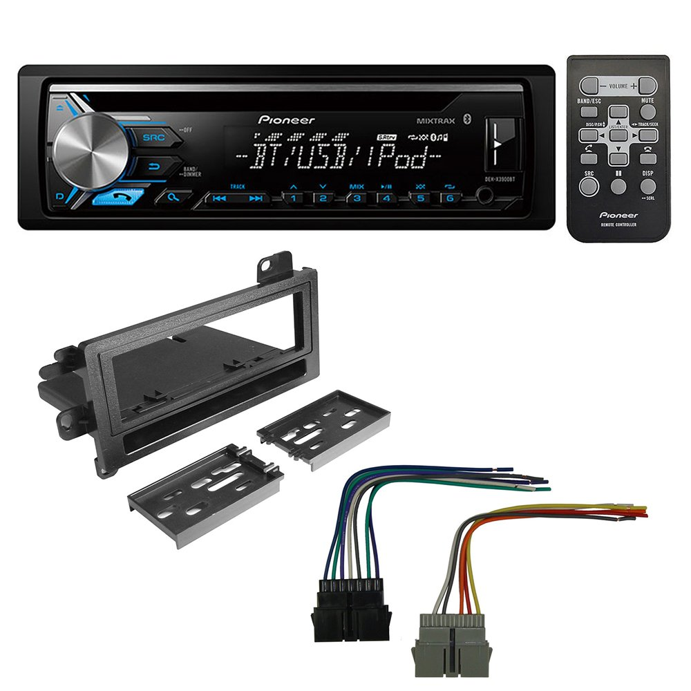 hight resolution of get quotations pioneer aftermarket car radio stereo cd player dash install mounting kit stereo wire harness for