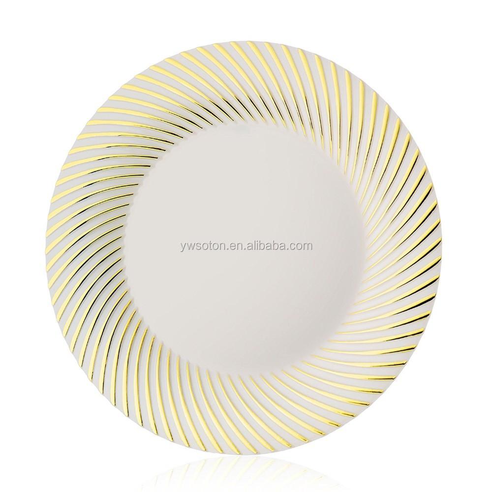 Bulk Disposable Plastic Dinner Plates
