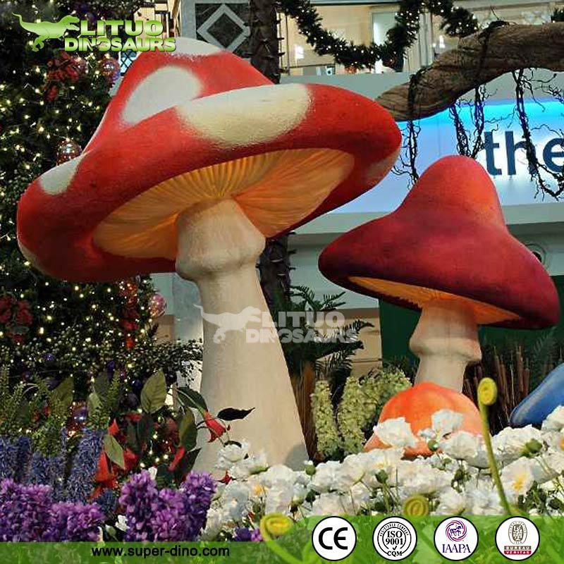 Alice And Wonderland Mushroom Land